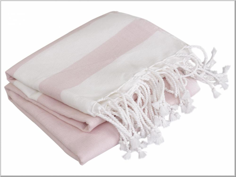 Chic Antique Badetuch St. Maxime Rose 180x90 cm