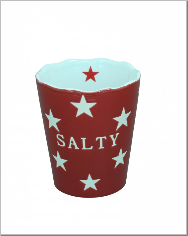 Happy Schale Salty Red Star Ø9,5 x 10cm