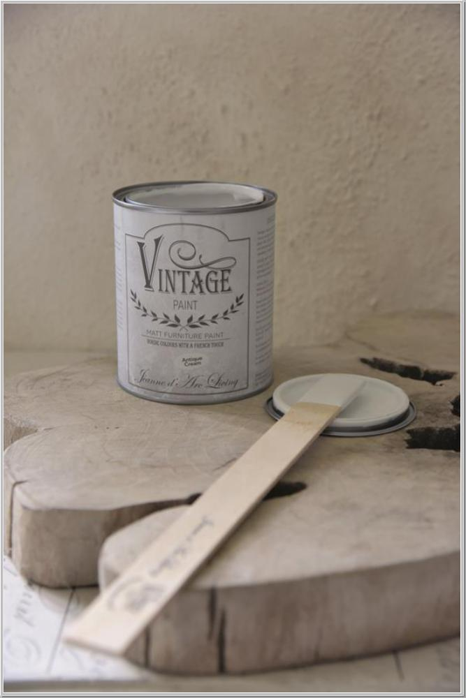 Jeanne d'Arc Living Vintage Paint Kreidefarbe Antique Cream 700 ml/1L/41,35€