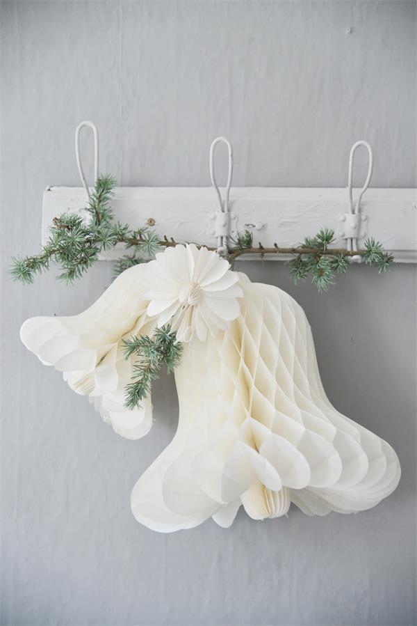 Jeanne d´Arc Glocke Papier Bell Christmas Weihnachten Ø 17xH10 cm Small