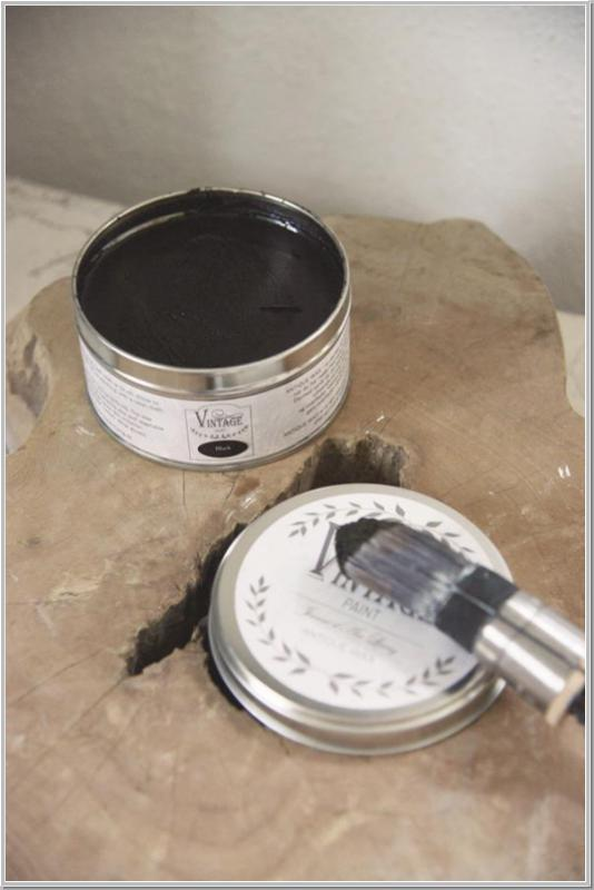 JDL 370ml Antique Wax Vintage Paint Wachs Black Schwarz