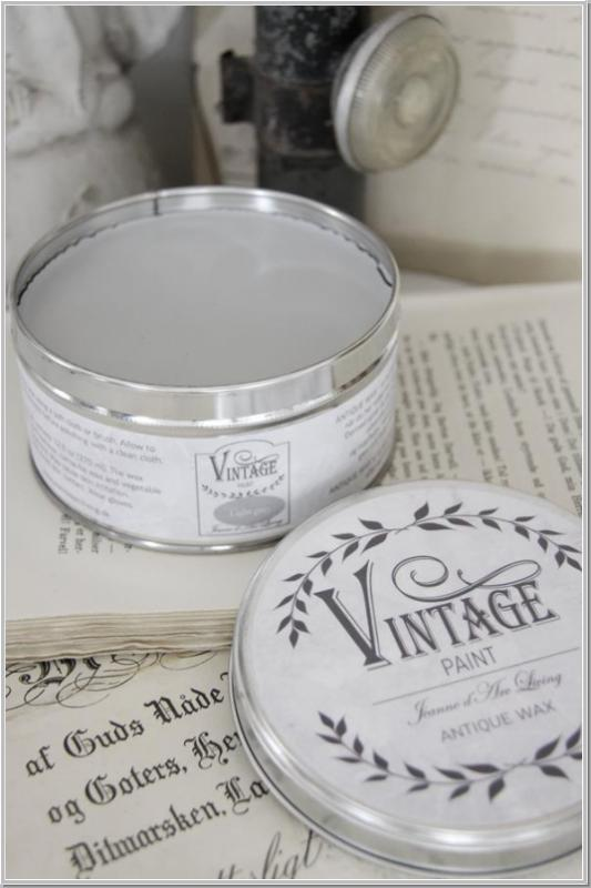 JDL 370ml Antique Wax Vintage Paint Wachs Light Grey